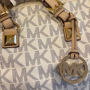 BRAND NEW — MK little satchel/duffel bag